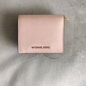 Michael Kors baby pink wallet